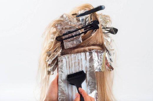 Jak fryzjer robi ombre?